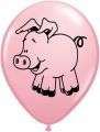 76477, Qualatex, Luftballon, Schwein